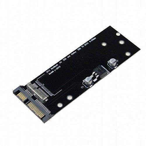 SSD Ke Adaptor SATA 7 + 17/8 + 18 Pin 2012 Retina MacBook Pro dan Air New
