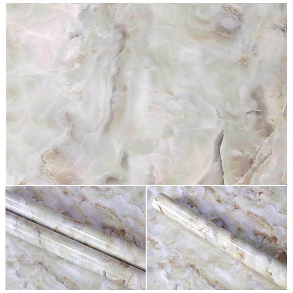 weizhe 10 Colors Granite Look Marble Effect Contact Paper Film Vinyl Self Adhesive Peel-stick Counter Top Decoration For Kitchen Counter,Closet,Bathroom Wall Sticker - intl