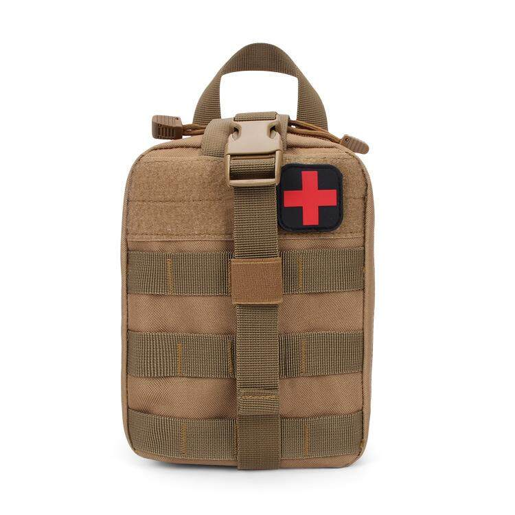 Hình ảnh First Aid Kit Medical Rescue Package Tactical Military Utility Waist Bag