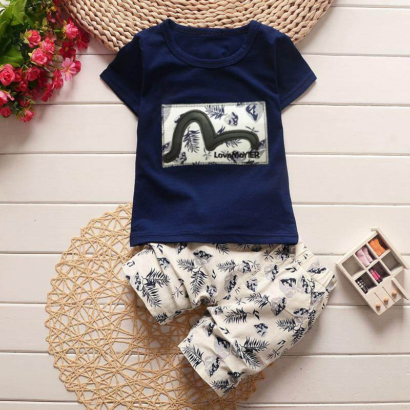 Baby Boy Clothes Summer Fashion Kids Boys Clothing Set Children Toddler Boys Clothing T-Shirt + Pants Tracksuit By Fashion Baby Clothing.