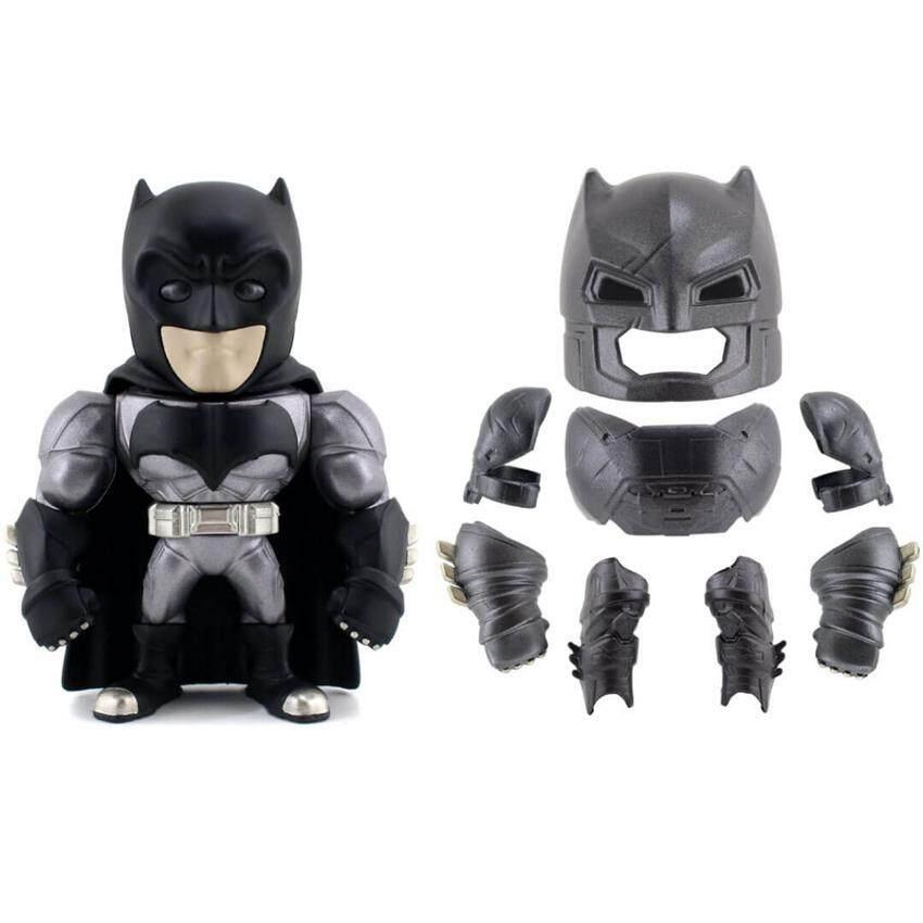 "Jada 6"" Batman v Superman Dawn of Justice Die-Cast Armored Batman M11 Metalfigs Model Collection"