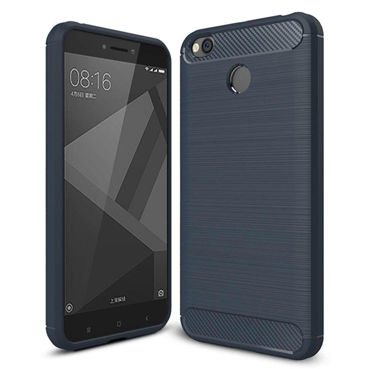 Hình ảnh for Xiaomi Redmi 4X Case Carbon Fibre Hairline Ultrathin Soft TPU Back Case Cover, Light, Minimalist, Non-slip, Shockproof, Anti-scratch