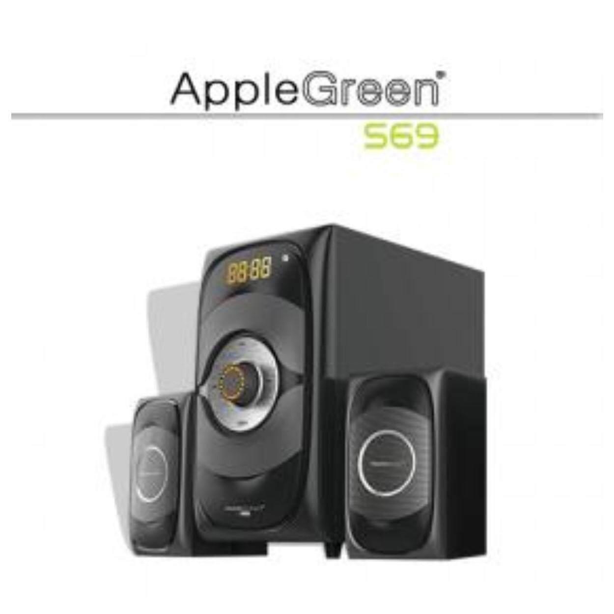 AppleGreen S69 60W 2.1CH Subwoofer Bluetooth Speaker (TV PC Notebook Handphone USB SD FM)