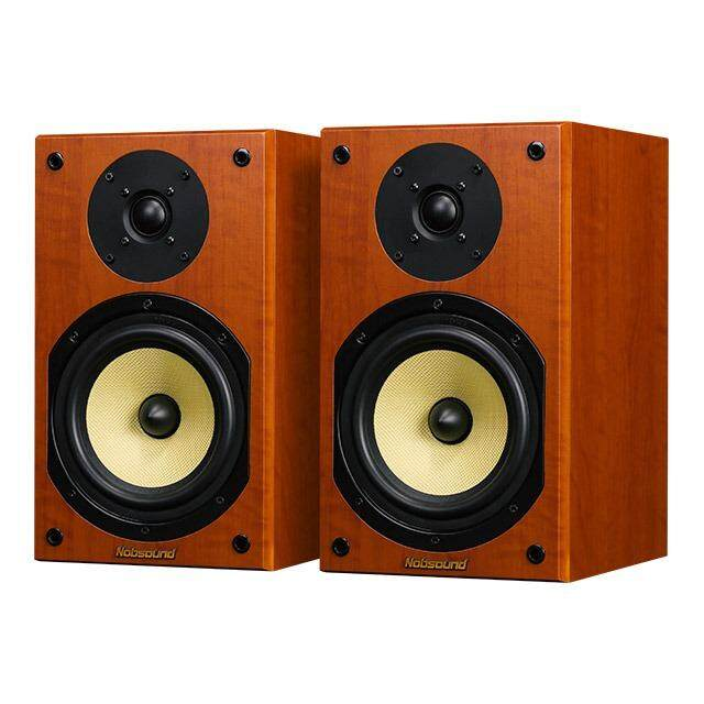 Nobsound NS-2000 Wood 100W 1 Pair 6.5 inches Bookshelf Speakers 2.0 HiFi Column Sound Home Professional speaker Malaysia
