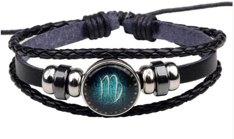 12 Constellation Good Sign Unisex Bracelets