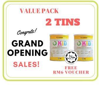 Biogreen O´Kid Oatmilk - 850G X 2 (VALUE PACK)- Okid Oat Milk- *New Packaging