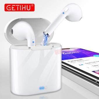 NỒI CƠM ĐIỆN TỪ Mini Cặp Song Sinh Bluetooth Thể Thao Tai Nghe Tai nghe Âm Thanh Nổi trong Tai Tai Nghe Nhét Tai không dây tay nghe Tai Nghe Dành Cho iPhone amsung