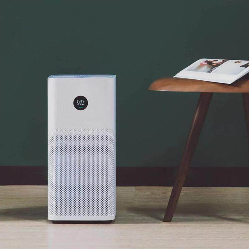 Original Xiaomi OLED Display Smart Air Purifier 2S Smoke Dust Peculiar Smell Cleaner White AU Plug Singapore