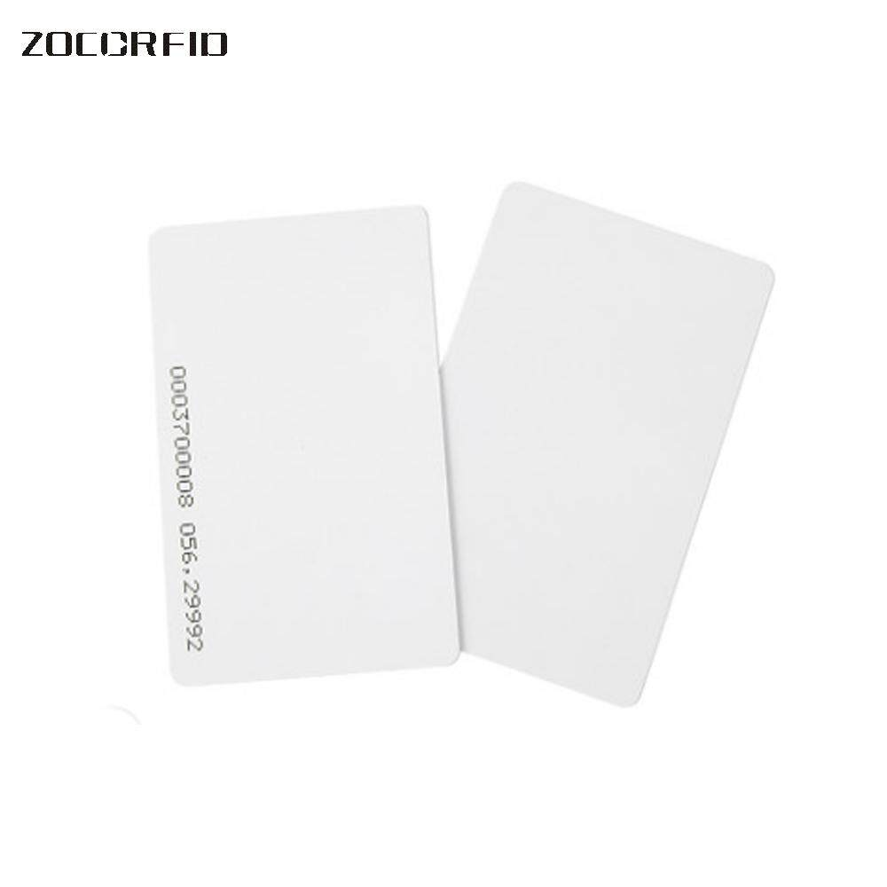 100pcs/lot TK(EM)4100 ID CARD reaction ID card 125KHZ RFID ID blank Card fit for Access Control Time Attendance