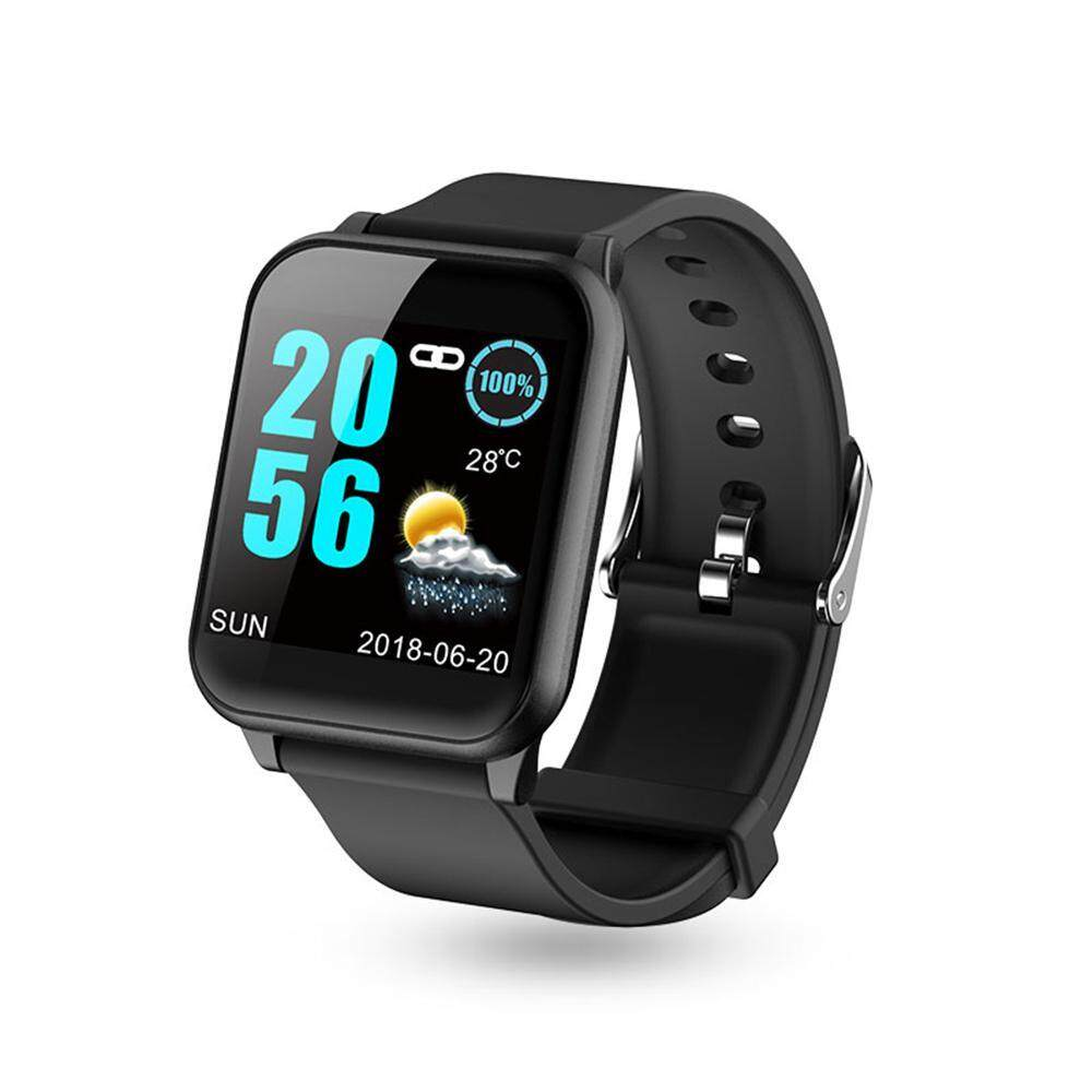 156a656b8e7 GoodGreat Sports Smart Watch, Sports Bracelet with LCD IPS Display  Continuous Heart Rate Color Screen Intelligent IP67 Waterproof Smart Watch  Men Women ...