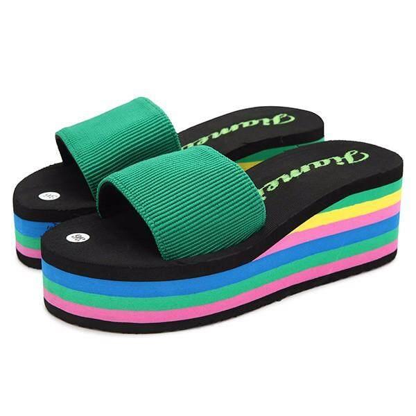 ... Pelangi Bola Anjing Kecil Kucing EVA Hewan Peliharaan Mainan Bola Latihan Golf. IDR 73,575 IDR73575. View Detail. Fashion Women Colorful Rainbow EVA ...
