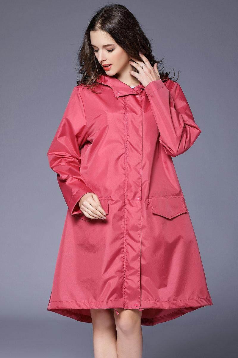 Triple Terbaik Jas Hujan Mode Untuk Wanita Wanita Jas Hujan Bernapas Wanita Jas Hujan Panjang Portable Anti Air Jas Hujan Wanita By Triple Best Technology Co., Ltd.