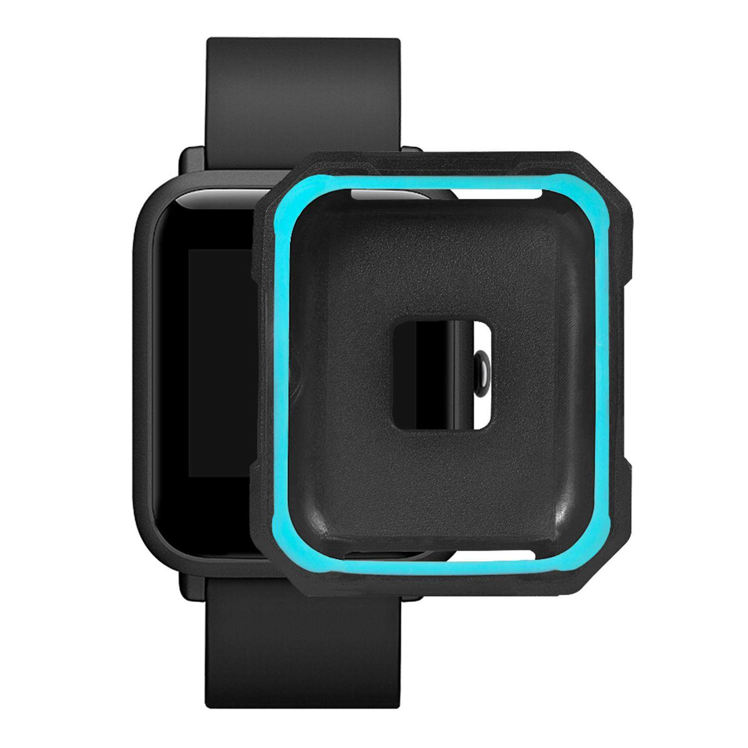 Buy Sell Cheapest Huami Watch Protect Best Quality Product Deals Xiaomi Amazfit Pace 2 Stratos Cover Bumper Case Shell Frame Protector Anti Cracking Soft Tpu Full Protective Compatible With