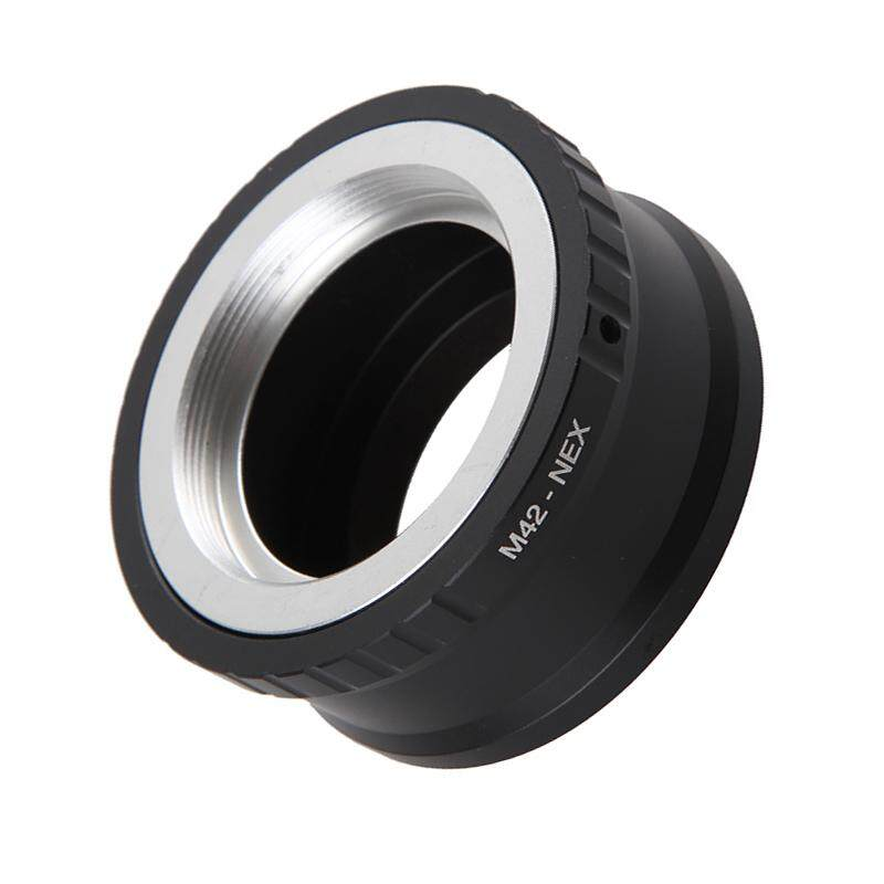 B-F Camera Lens Mount Adapter Ring M42-NEX for M42 Lens for SONY NEX E NEX3 NEX5 Mount Adapter Ring