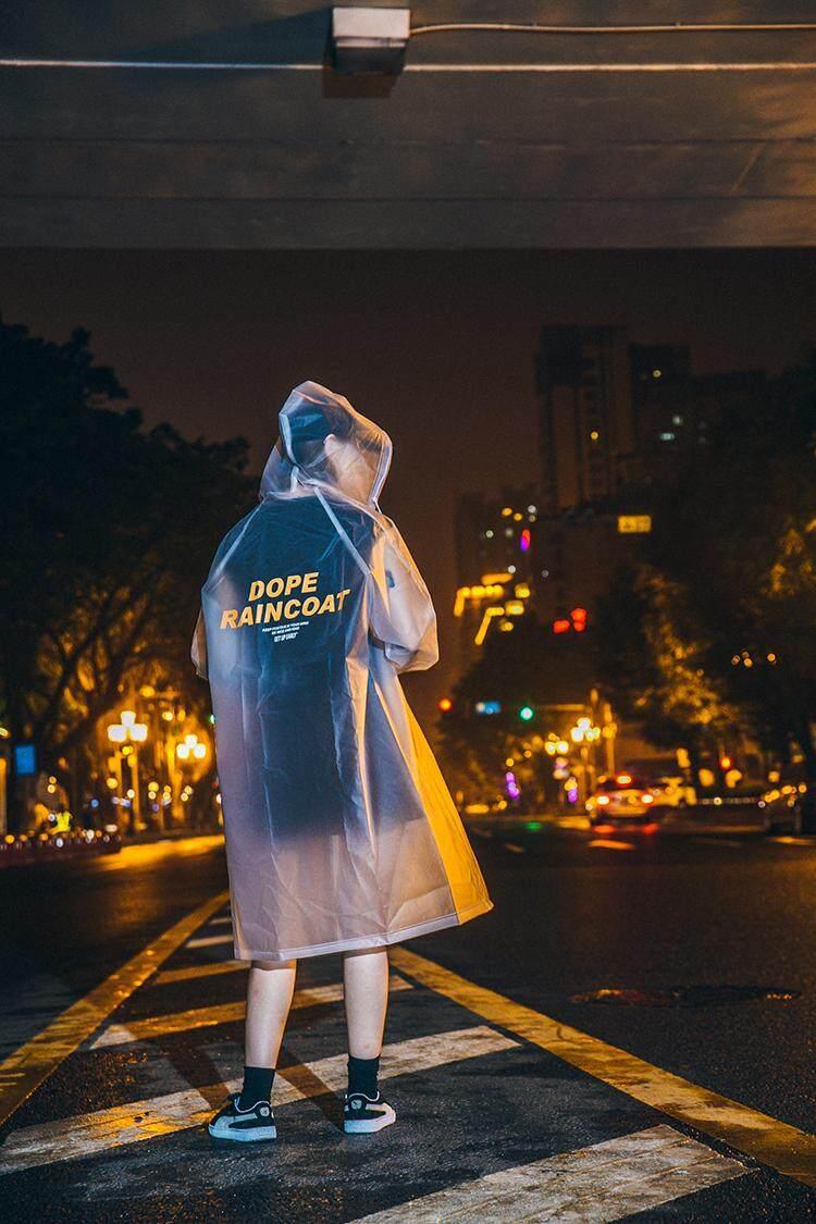 Panjang Tutup, Bertudung Windbreaker, Anti-Air, Tahan Angin, Jalanan Berjalan Raincoat, Pecinta Mantel Tipis