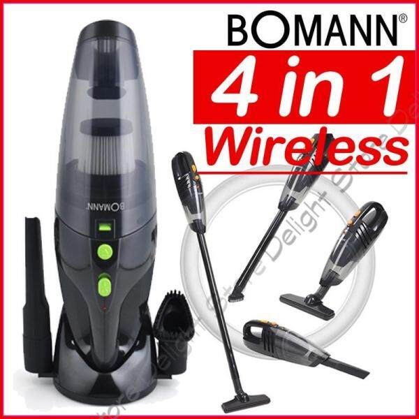 BOMANN Germany New VC7211 1300mAh 4in1 Cordless Vacuum Cleaner Singapore