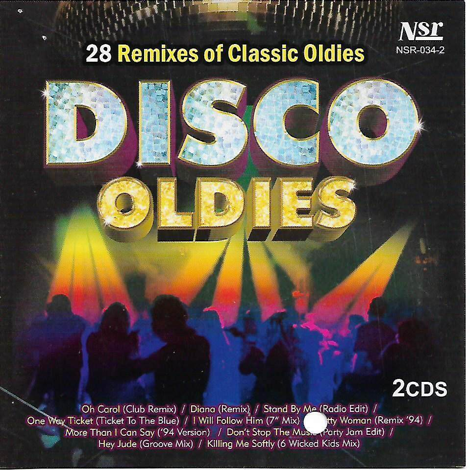 28 Remixes of Classic Oldies In Disco Oldies 2CD New