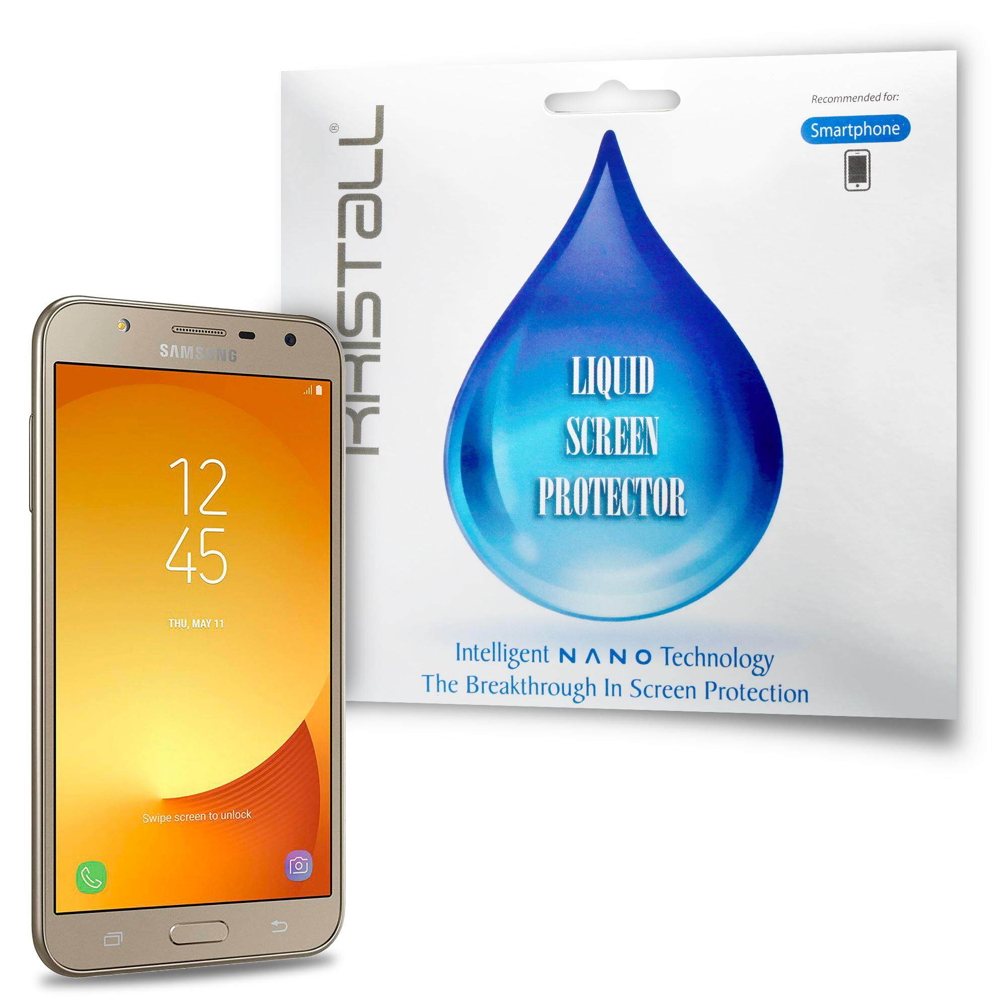 Samsung Galaxy J7 Pro Screen Protector - Kristall® Nano Liquid Screen  Protector (Bubble-FREE Screen Protector, 9H Hardness, Scratch Resistant)