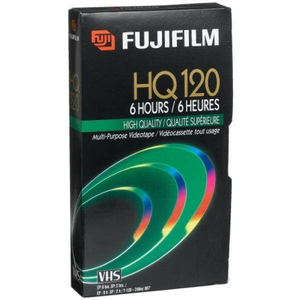 Blank Media Fuji 23021121 HQ T-120 VHS Video Cassette (Discontinued by Manufacturer) - intl