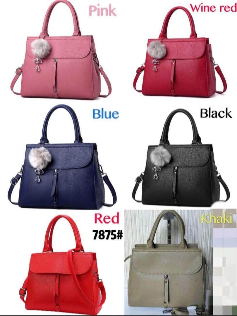 Classy WomenTop Brand Ladies handBag with keychain Promotion End Soon