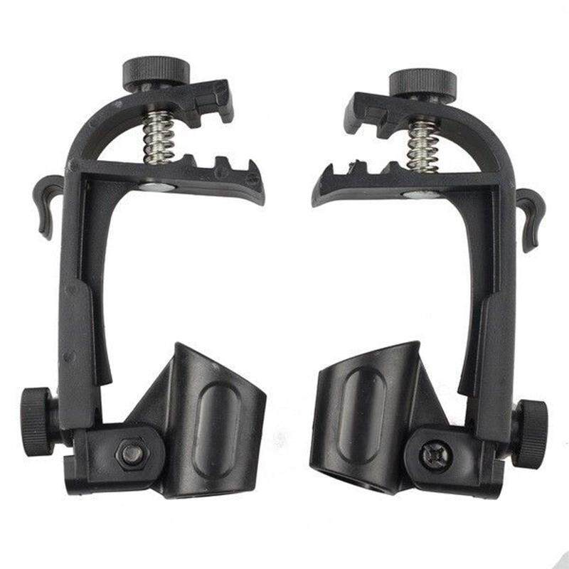 Big House 2pcs/set Adjustable Clip On Drum Rim Shock Mount Microphone Mic Clamp Holder