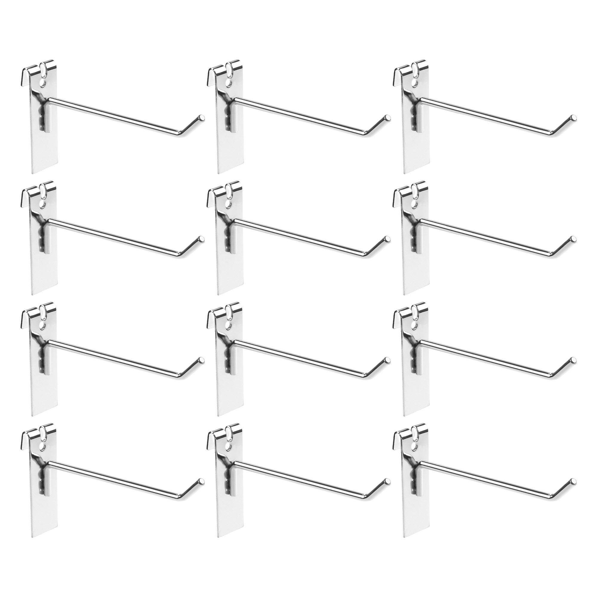 Lightning Power-Pack of 12 Gridwall Hooks Grid Hook Display Hooks for Gridwall and Panel Display(Silver) Philippines