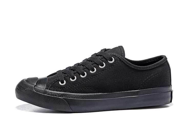 Discount! Hot Sale 2018 Unisex Convers Jack Purcell Low Top Women's and Men's Sneakers Canvas Casual Shoes Color: All Black - intl