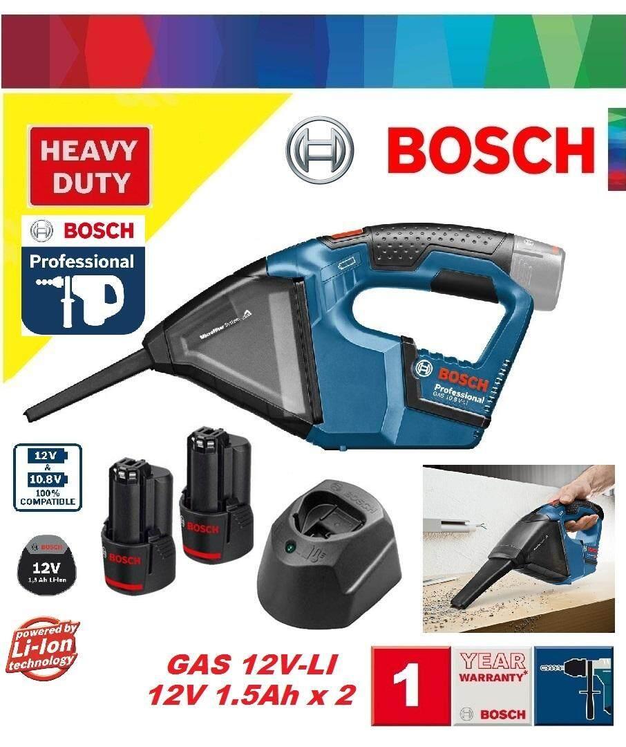 Bosch GAS 12V Cordless Vacuum Cleaner Set, Cordless Vacuum Cleaner