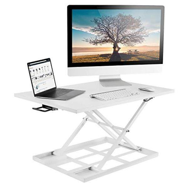 Mount It Standing Desk Ergonomic Height Adjustable Sit Stand Desk