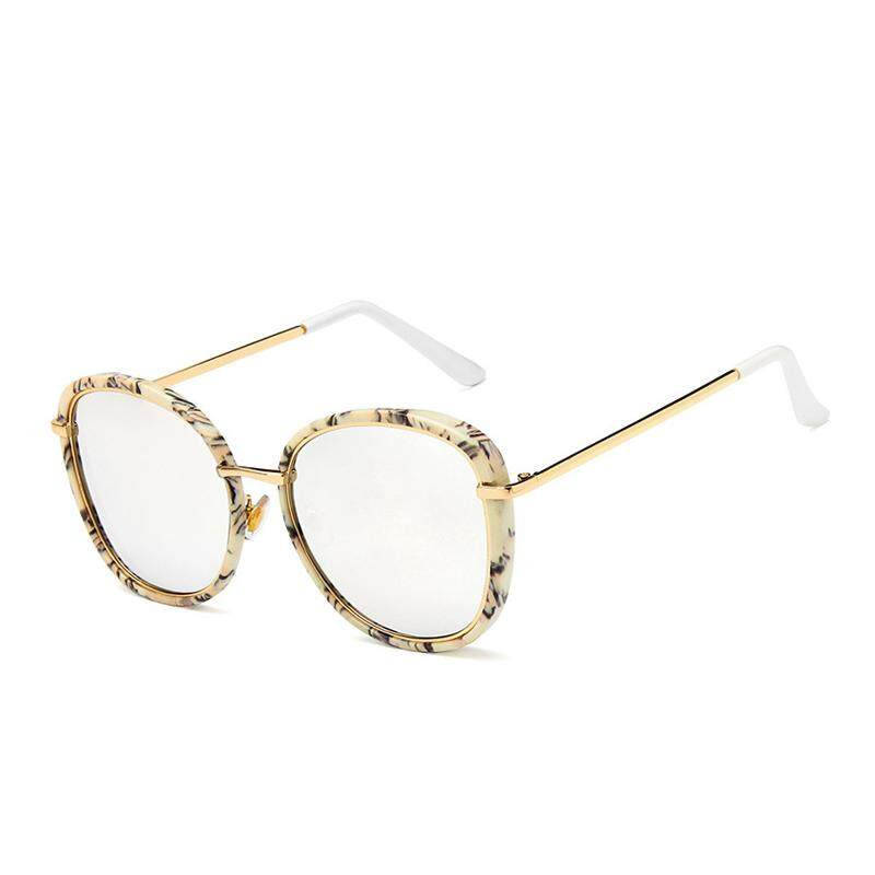 【Vigo】new Daftar Waktu Terbatas Khusus 9 Warna Kualitas Tinggi Modis Wanita Perempuan Model Kacamata Bingkai Bulat Retro Jaring Merah kacamata-Internasional