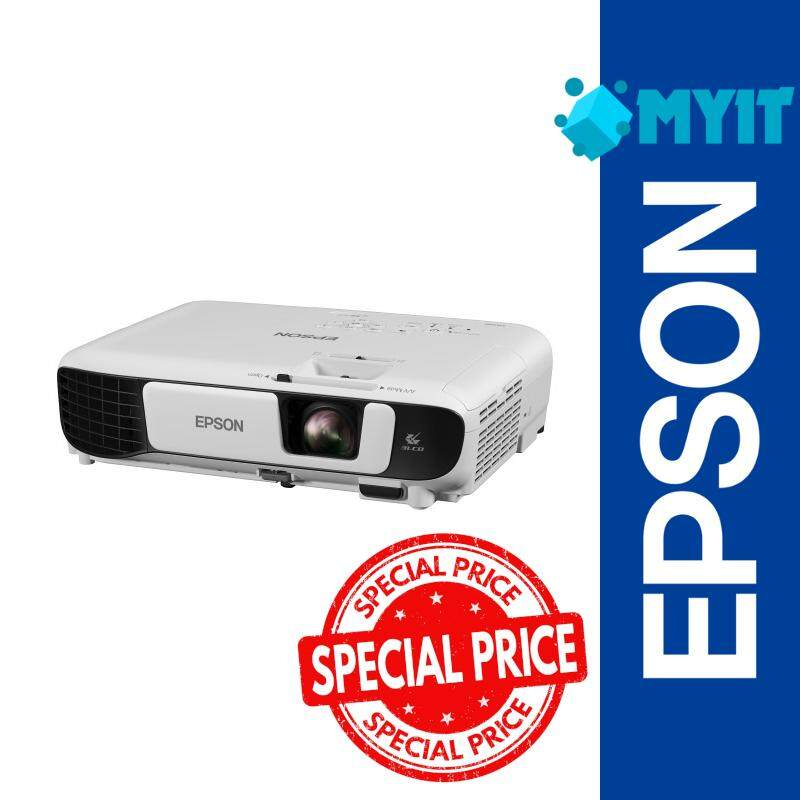 Epson EB-S41 Projector 3LCD SVGA 4:3 Display 3300LM Brightness (HDMI / VGA Port)