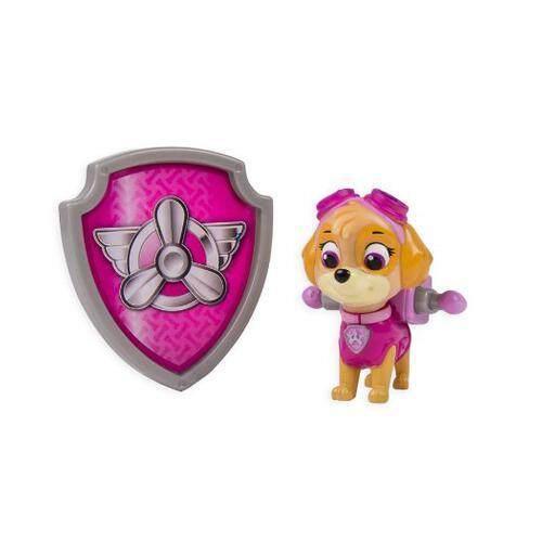 [Paw Patrol] Nickelodeon, Paw Patrol - Action Pack Pup & Badge - Skye [From USA] - intl