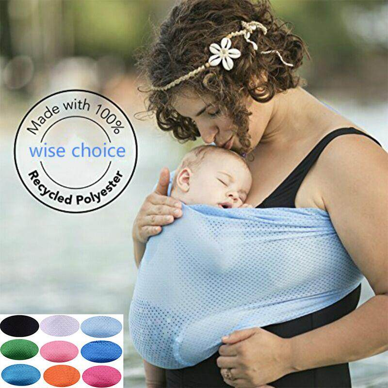 Backpacks & Carriers Baby Carrier Cotton Breathable Wrap Baby Carrier Sling Newborns Kid Infant Carrier Ring Swing Slings Soft Colorful Comfortable 2019 New Fashion Style Online Activity & Gear