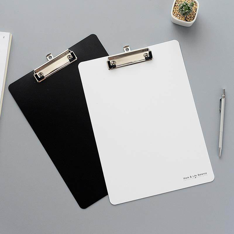 Mua Cute Small Fresh Clipboard A4 White and Black Document Bag File Folder Papelaria Business Financial School Supplie - intl