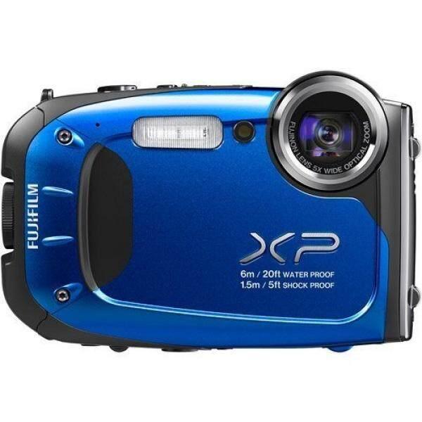 FUJIFILM Biru XP65 16 Megapixel dan 5x Optical Kamera Digital Zoom, Mencakup 100 Bonus Cetakan