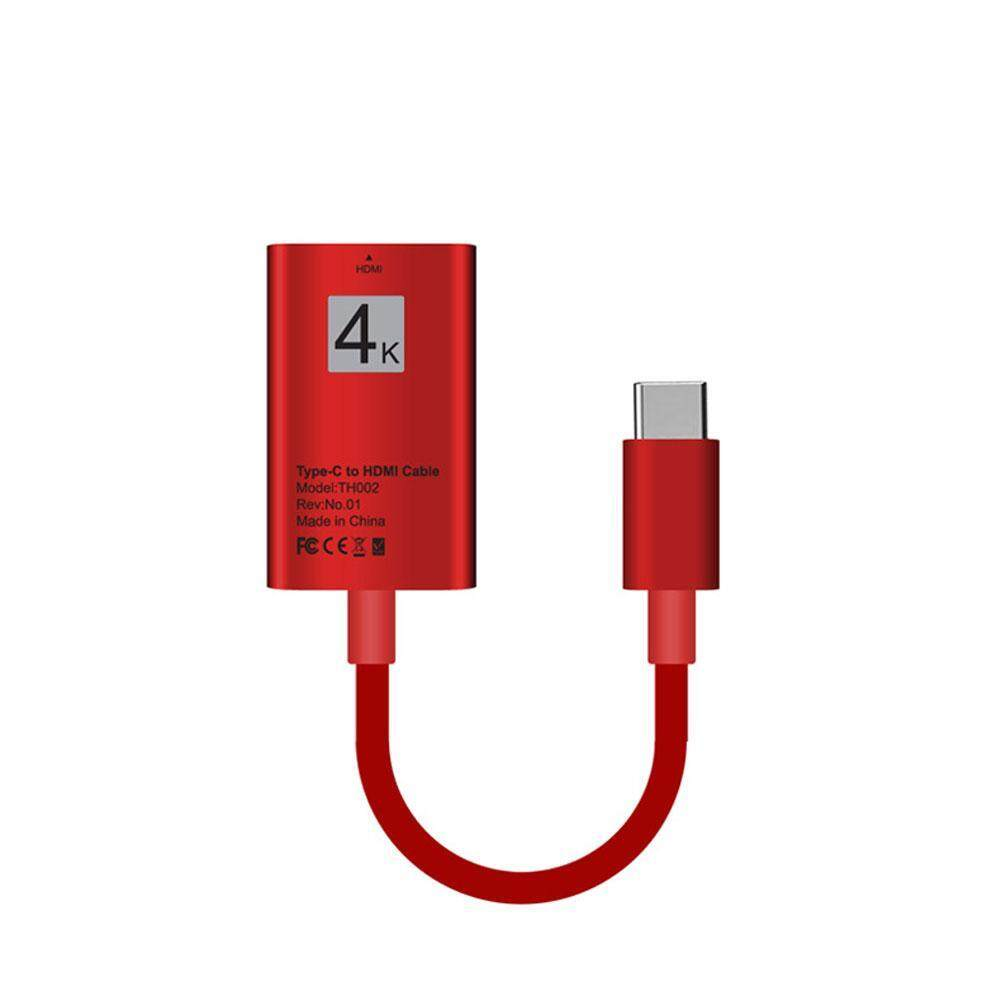 xudzhe Type C to HDMI Cable USB 3.1 HD Video Transfer Interface 4K*2k 30hz Adapter-Easily Use a Second Display for 2017/2016 MacBook Samsung Galaxy S8/S8 Plus