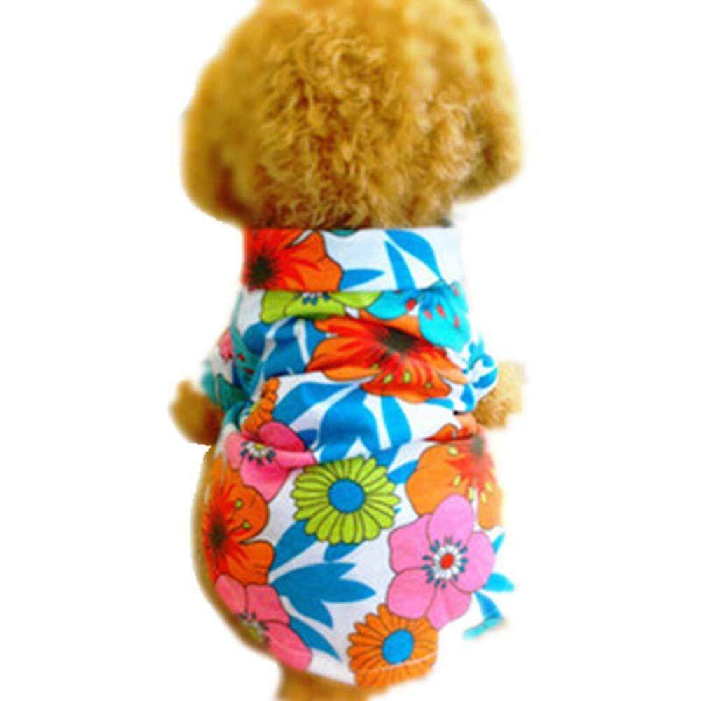 New Pet Supplies Pet Clothes Dog Clothes Beach Hawaiian Shirts - intl