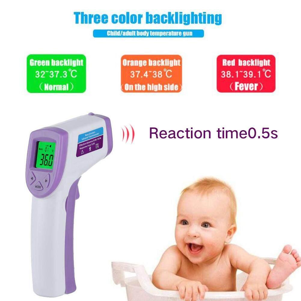Bayi Lcd Digital Non Kontak Termometer Inframerah Alat Diagnostik By Moonarstore.
