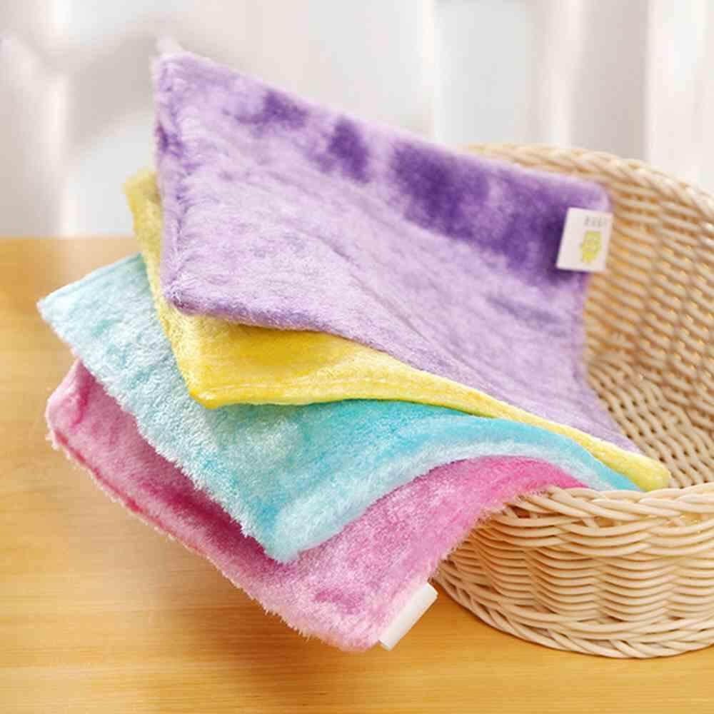 Yuero 4pcs Kitchen Dish Cloths Bamboo Fiber Washing Cloths Dishcloths Rags Towel Home Taleware Cleaning By Yuero.