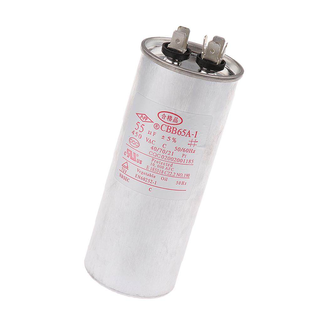 Ignition Capacitors For Sale Automotive Online Brands Capacitor Tester Circuit Miracle Shining Cbb65 Ac 450v 50 60hz Start Motor Air Conditioner Compressor 55vf