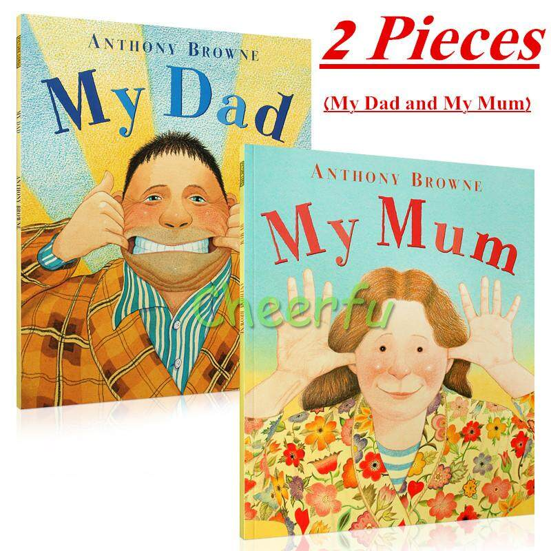 My Dad and My Mum ANTHONY BROWNE English Picture Books for Children Kids Learning Educational Version