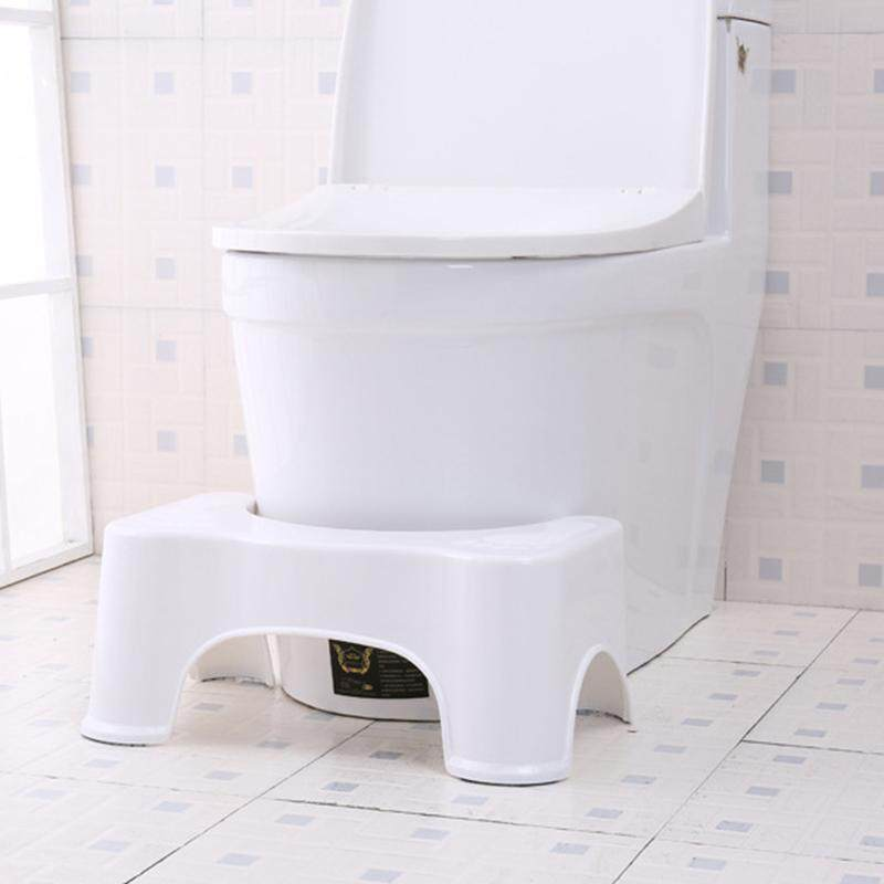 Potty Help Prevent Constipation Bathroom Toilet Aid Squatty Step Foot Stool for Elderly Children Pregnant Women