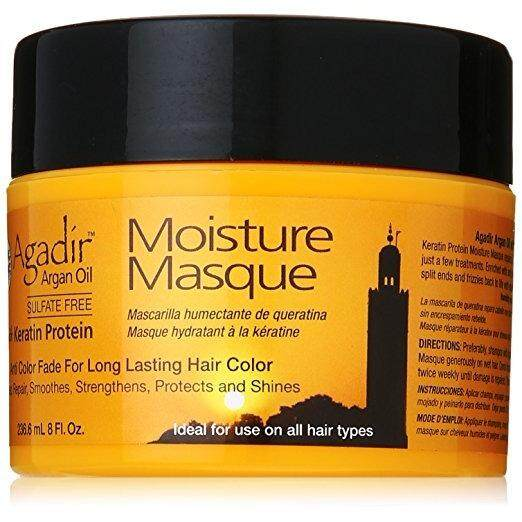 [ iiMONO ] Agadir Argan Oil Moisture Masque for Unisex, 8 Ounce