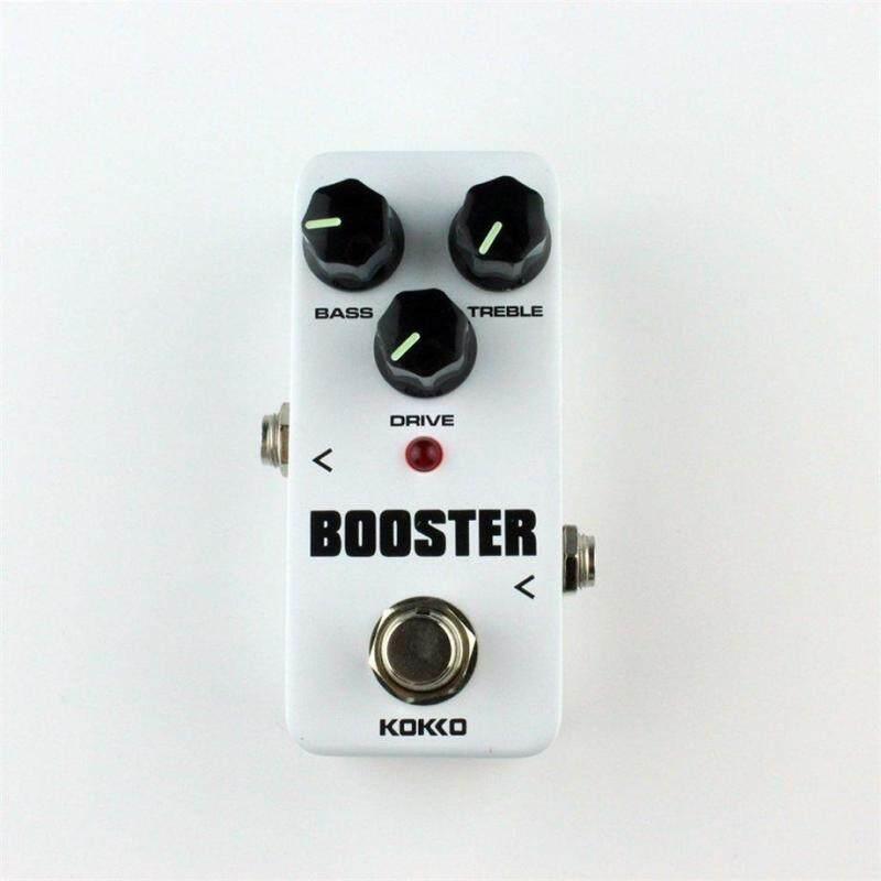 ERA FBS-2 Mini Overdrive Guitar Effect Pedal Guitar Two Segment EQ Effect Device White - intl