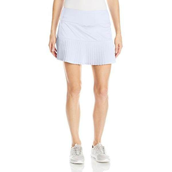 6b13c50ec Bolle Womens Seraphina Pleated Skirt with Shorts, White, Small - intl