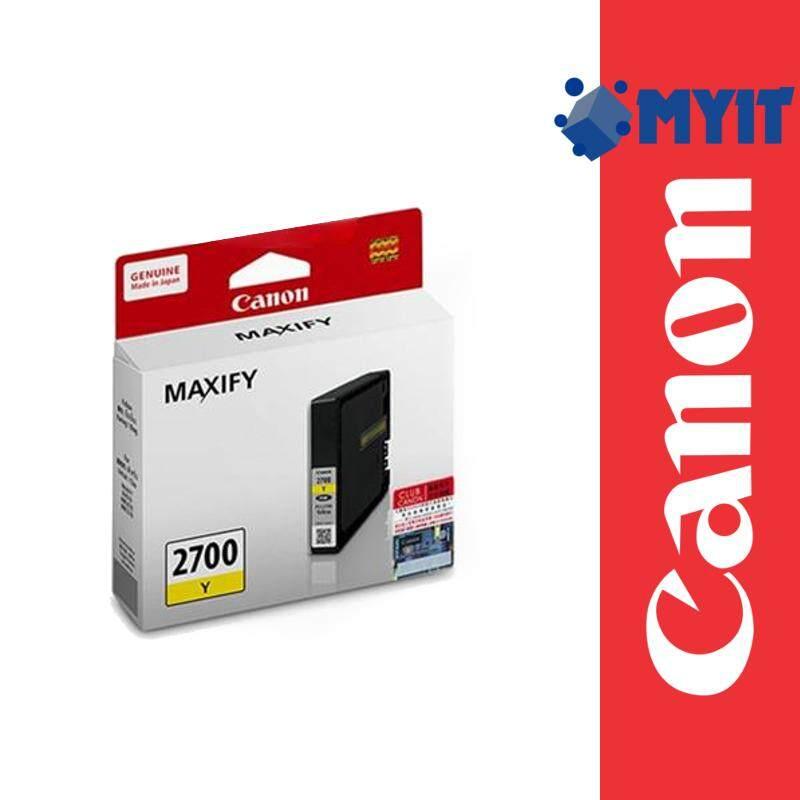 Canon Original PGI-2700 Yellow Color Ink Cartridge for MAXIFY iB4170 MB5170 MB5470 PGI2700 PG2700
