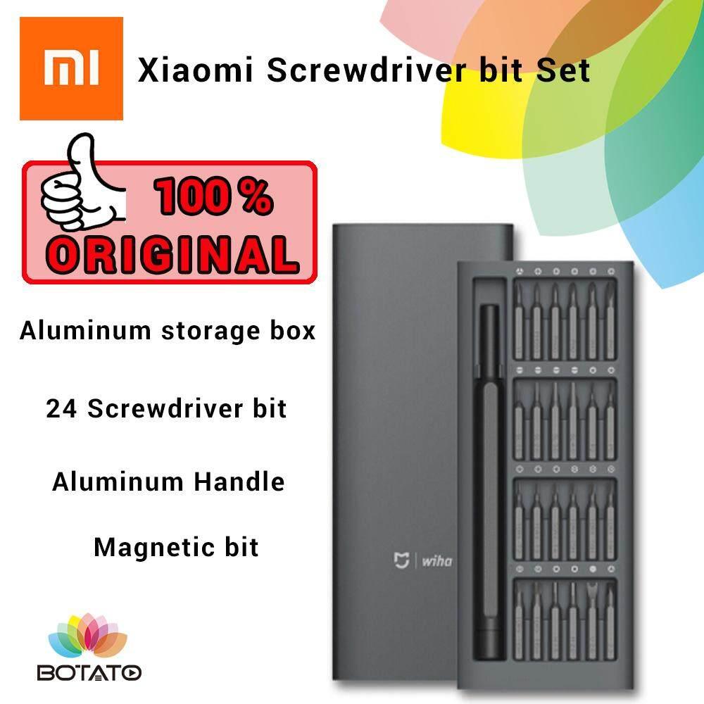 [[Xiaomi Mijia Wiha Screwdriver Set]]Multi Tool Magnetic Screwdriver Repair  Set Screwdriver Set Screwdriver bit [[Botato Electronic]]
