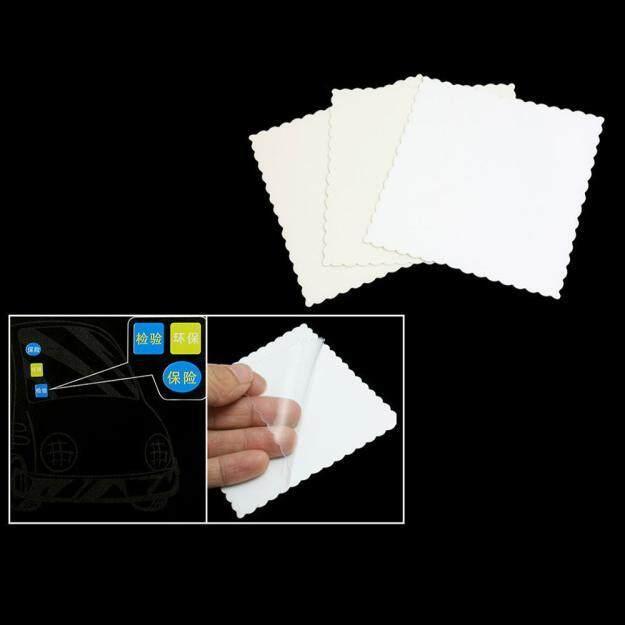 Fanestiy 3 Pcs Mobil Jendela Otomatis Sinyal Jelas Cling Stiker Statis Film