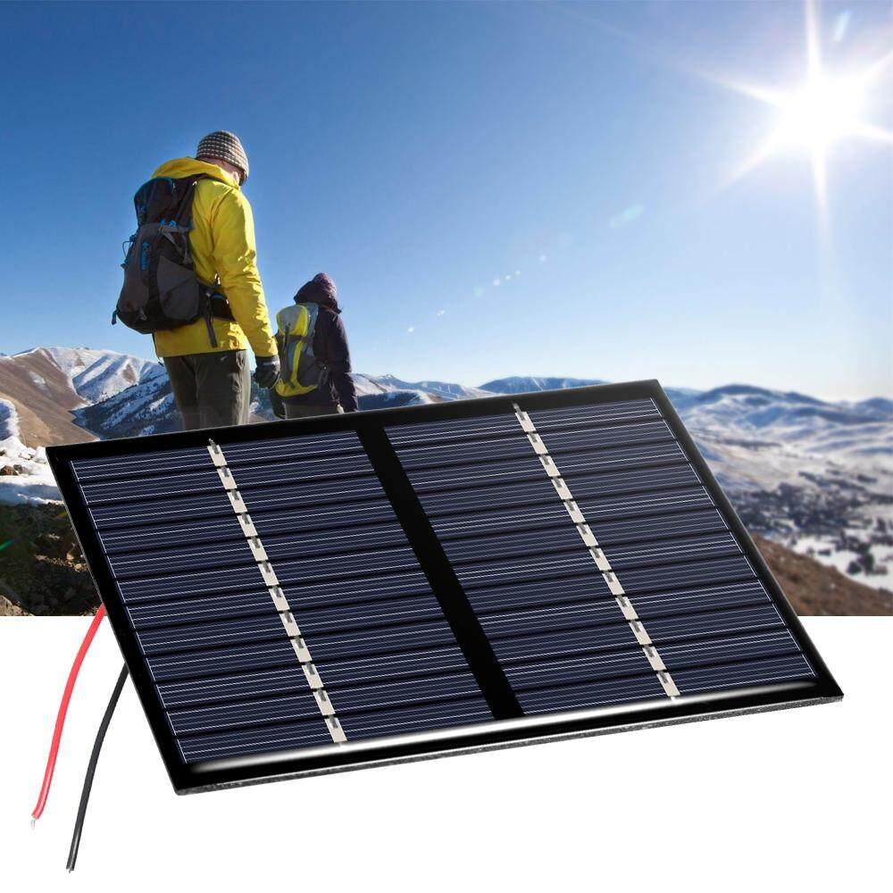 1.5 W 12 V Panel Surya Silikon Polikristal Tenaga Surya Sel untuk Pengisi Daya DIY 115
