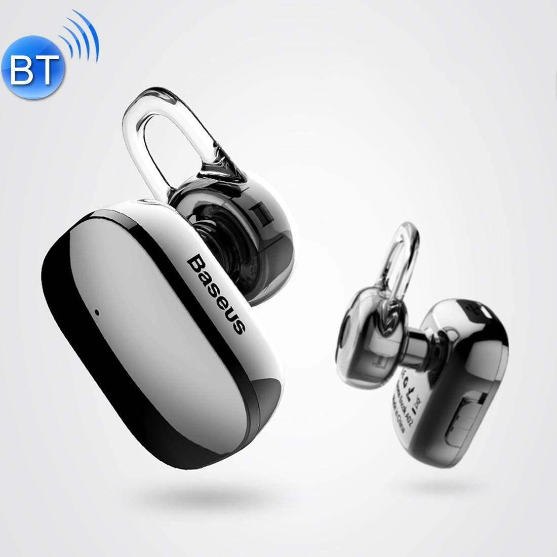 Baseus Encok A02 One-sided Touch Control Wireless Bluetooth In-Ear Plating Earphone, Support Answer / Hang Up Calls, For iPhone, Samsung, Huawei, Xiaomi, HTC, Sony and Other Smartphones(Tarnish)